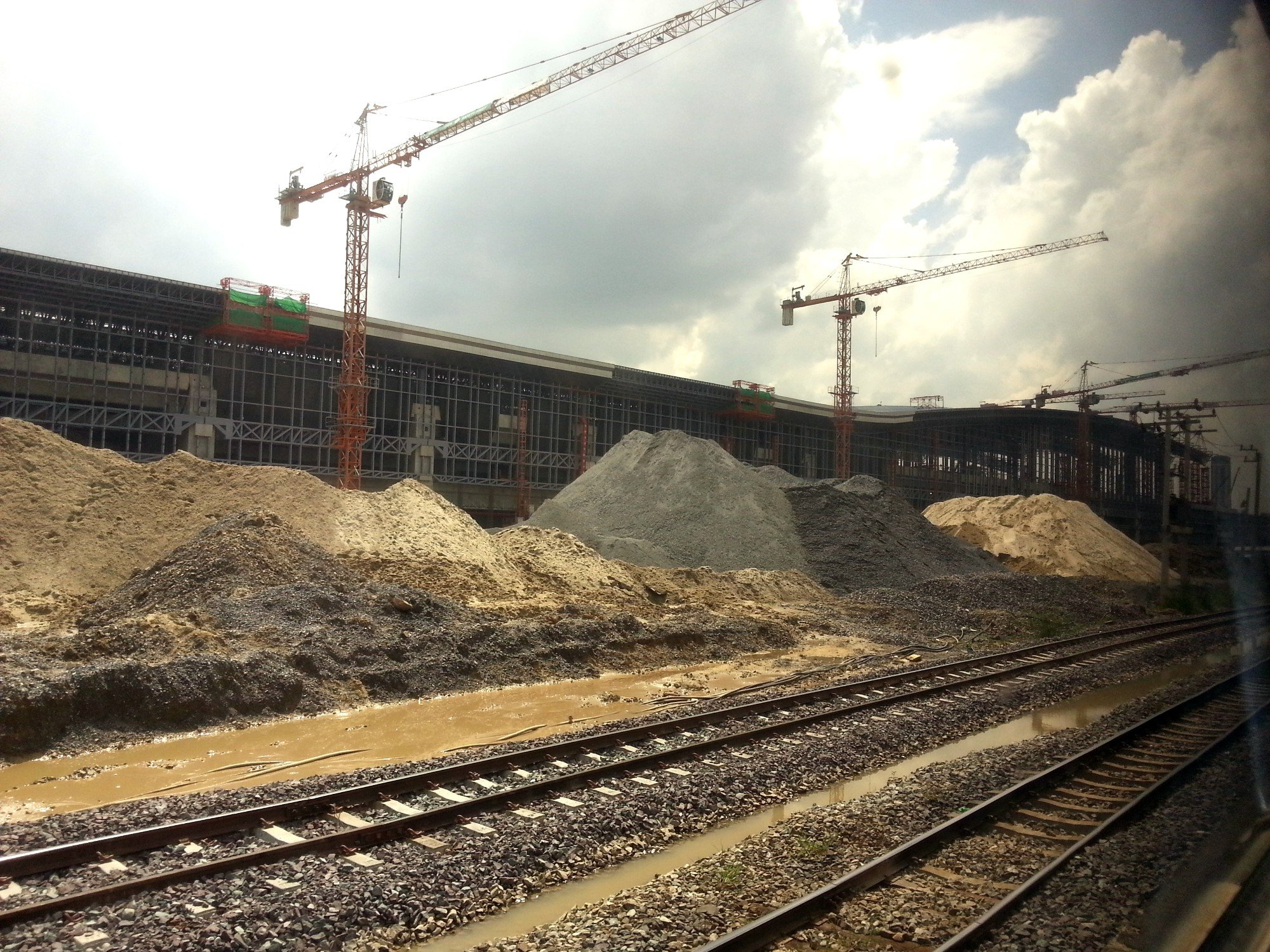 Bang Sue Central under construction