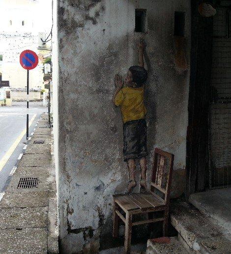 Street Art in George Town, Penang