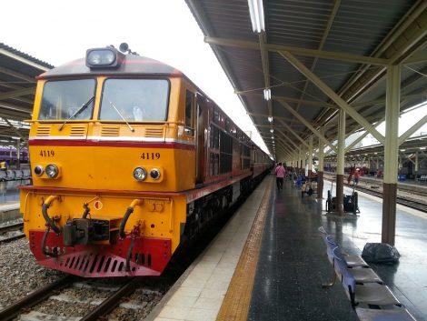 Train #83 to Surat Thani