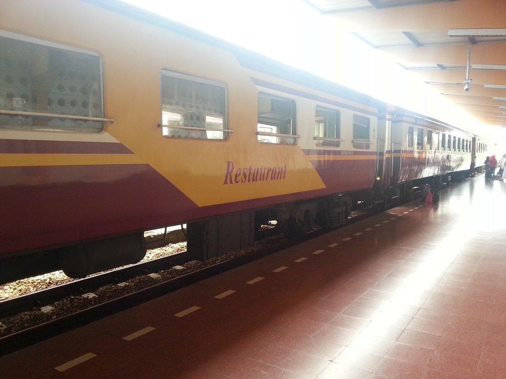 Train at Sungai Kolok Railway Station