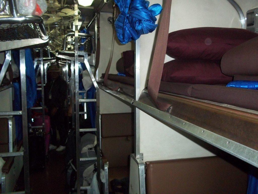 2nd class sleeper bed