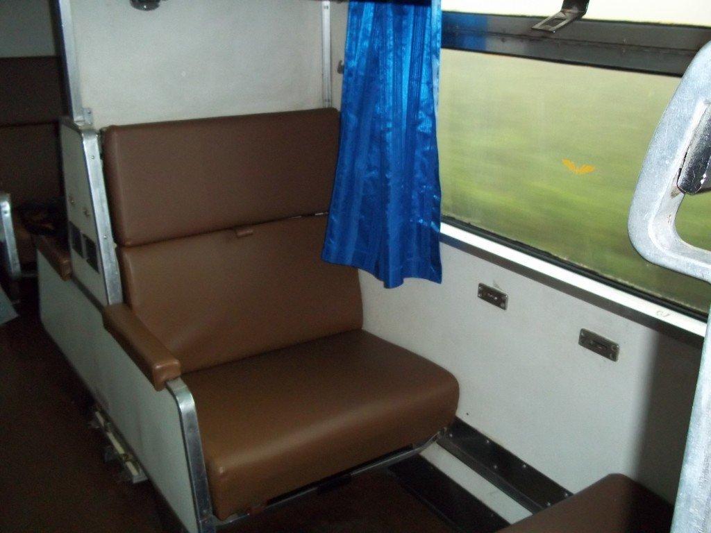 Standard 2nd class sleeper seat