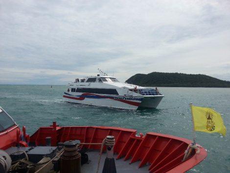 Lomprayah high speed catamaran ferry