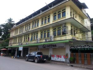 Queen Hotel near Surat Thani Train Station