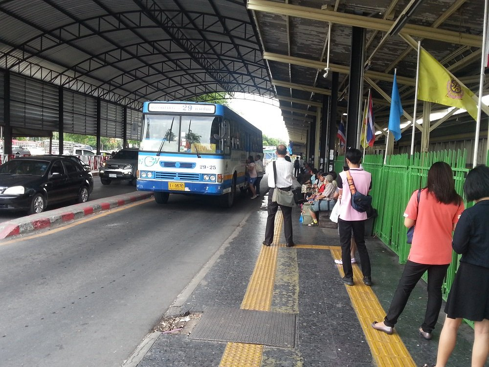 Bus Services from Bangkok Train Station