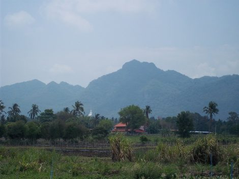 Fantastic scenery on route from Ubon Ratchathani to Bangkok