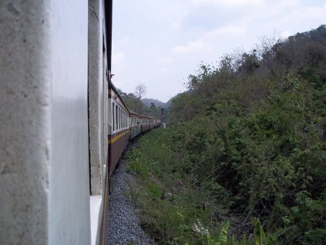 Train from Nakhon Ratchasima to Bangkok