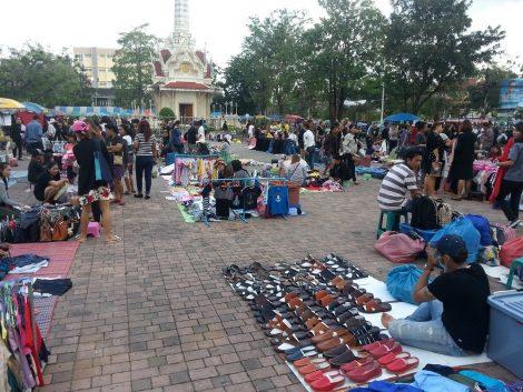 Open Air Market in Chumphon