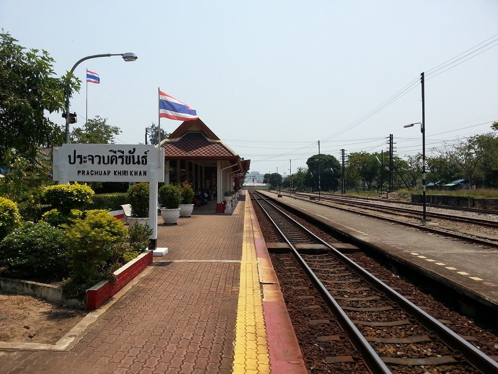 Arrival in Prachuap Khiri Khan