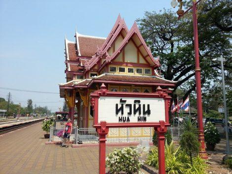 Hua Hin has a beautiful Train Station