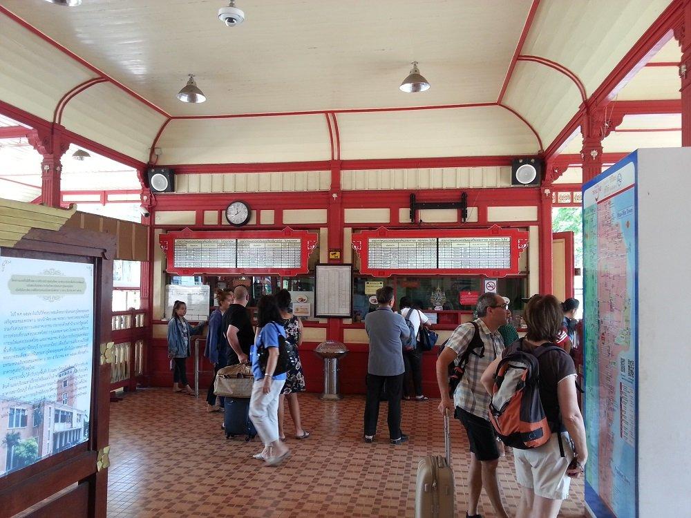 Ticket Counters at Hua Hin Train Station