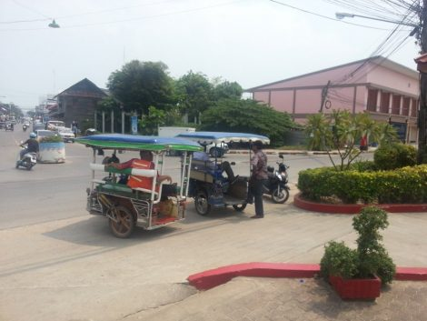 Local Transport at Prachuap Khiri Khan Train Station