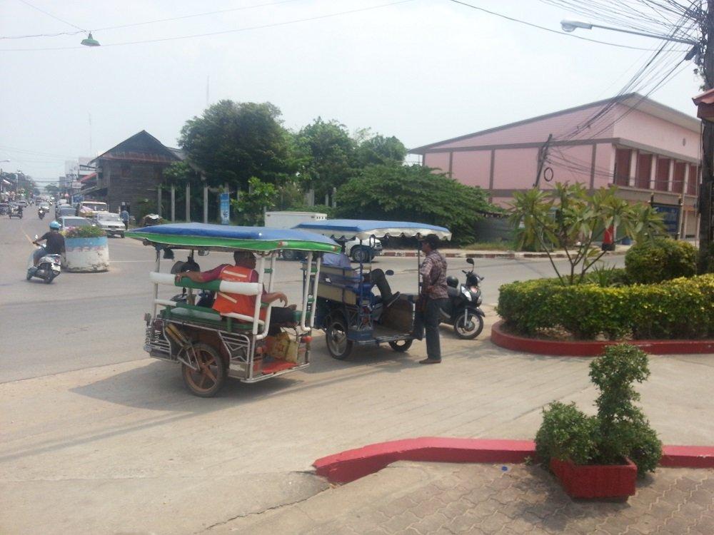 Local Transport at Prachuap Khiri Khan Train Station