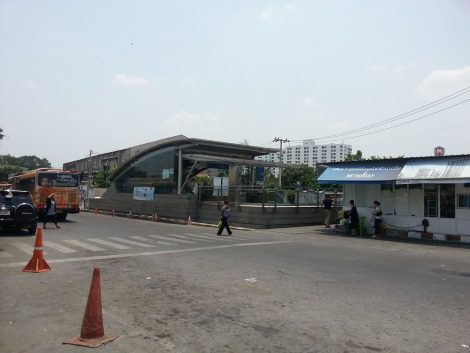Metro station next to Bang Sue Train Station