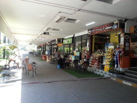 Restaurants at Hat Yai Train Station