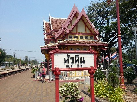 Railway Pavilion at Hua Hin Railway Station