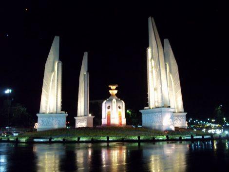 Democracy Monument in Bangkok
