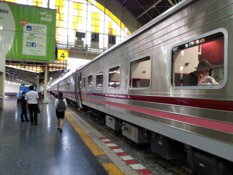 Platform at Bangkok Railway Station