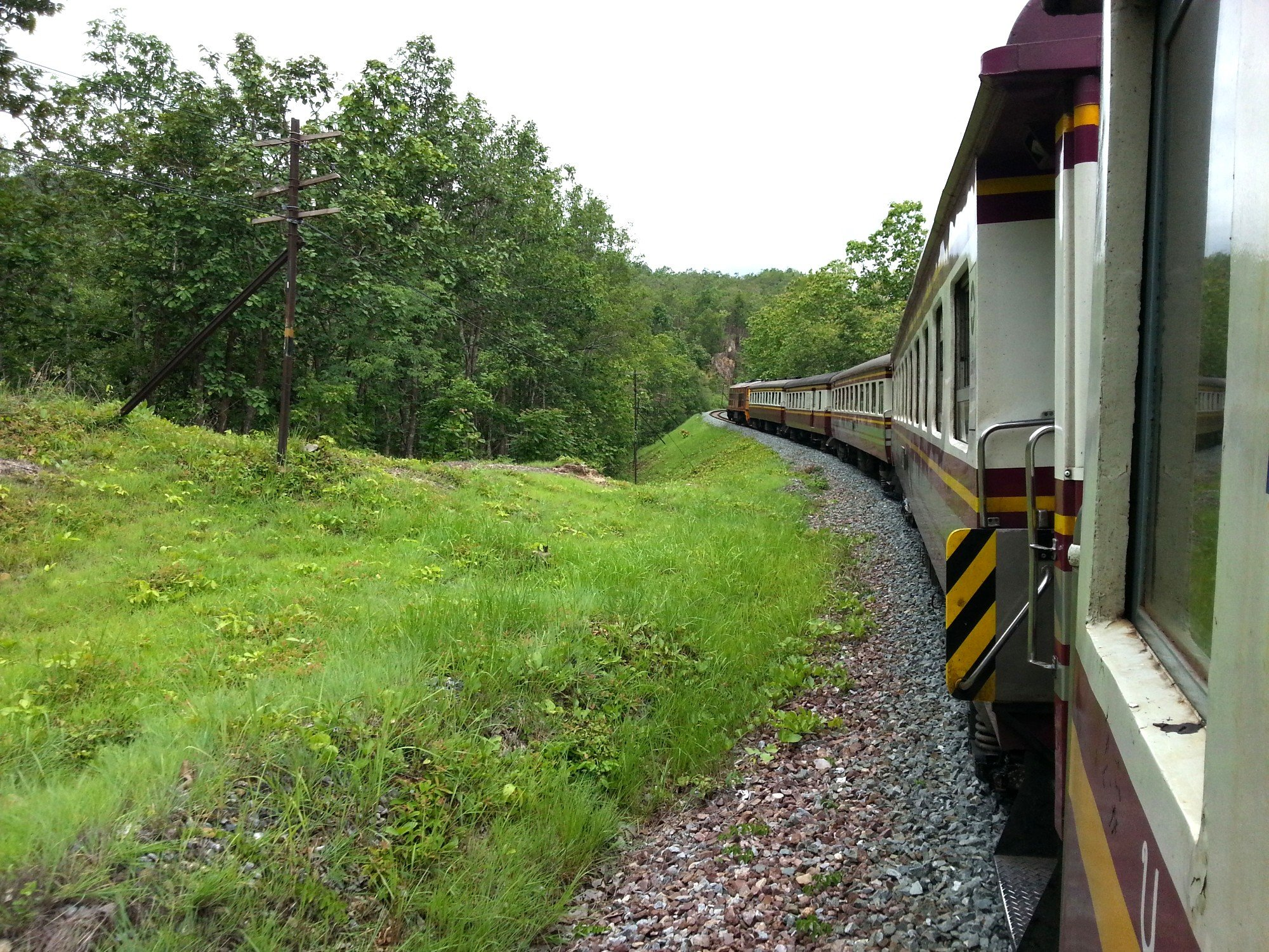 Train line to Uthumphon Phisai