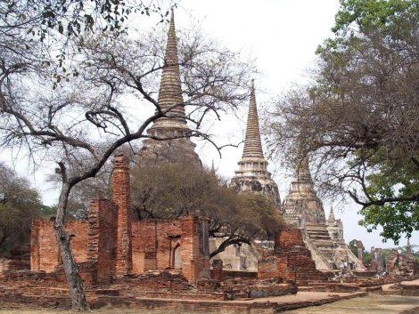 Wat Phra Sri Sanphet in Ayutthaya