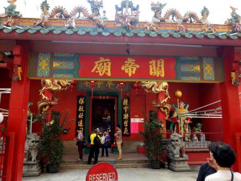 Guan Di Temple in Kuala Lumpur
