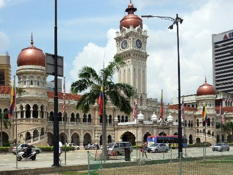 Sultan Abdul Samad Building in Kuala Lumpur