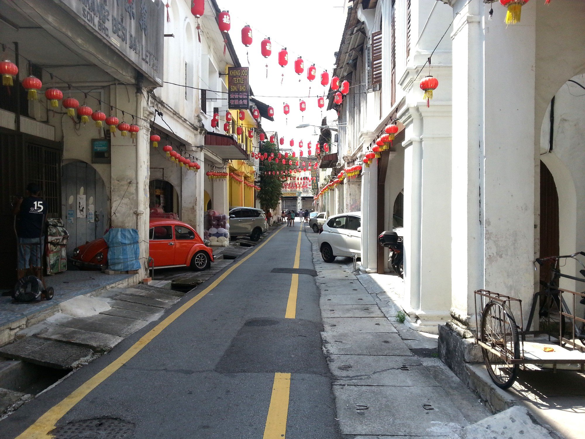 Concubine Lane in Ipoh's Old Town