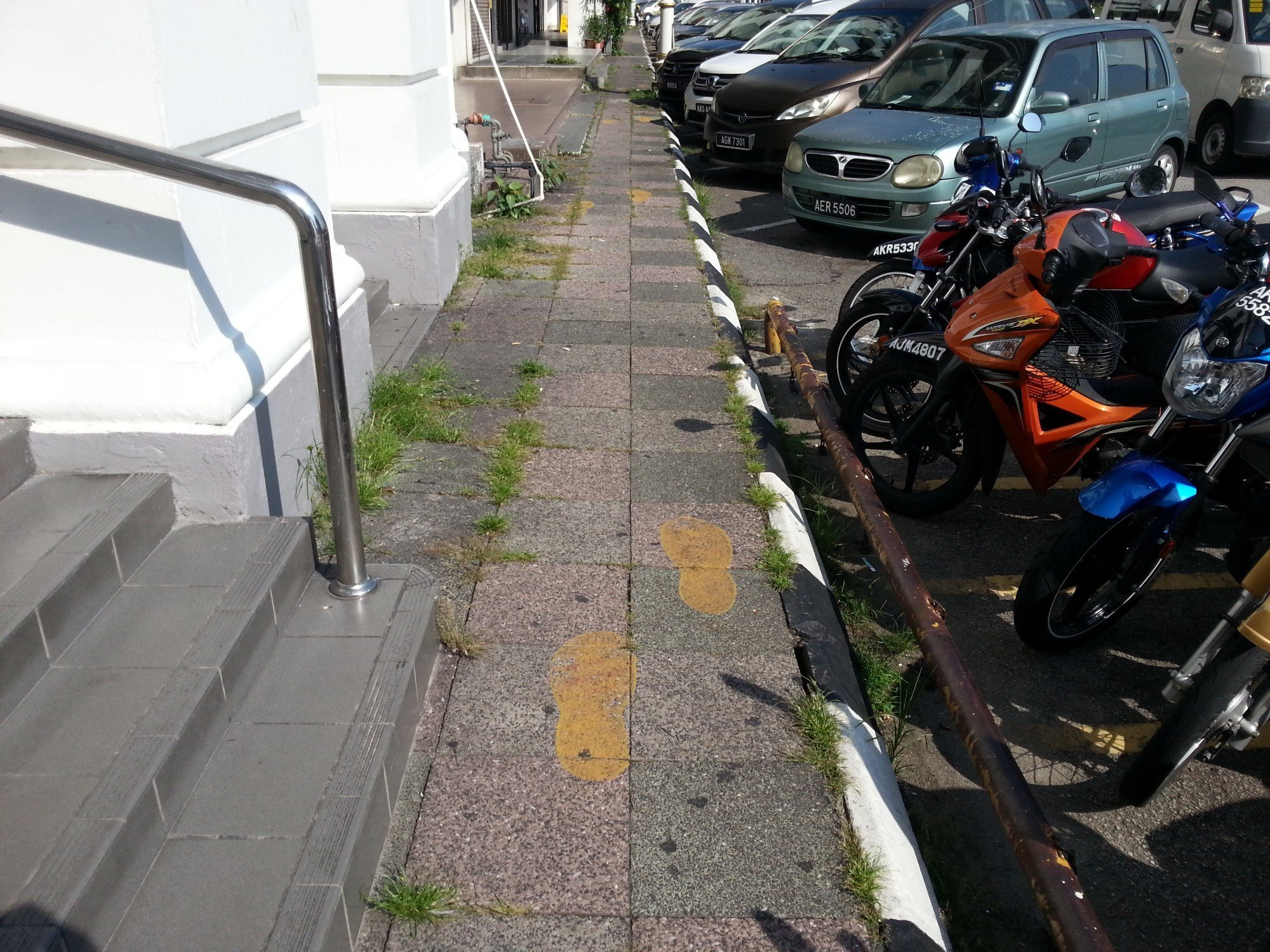 Follow the footprints on the Ipoh Heritage Trail