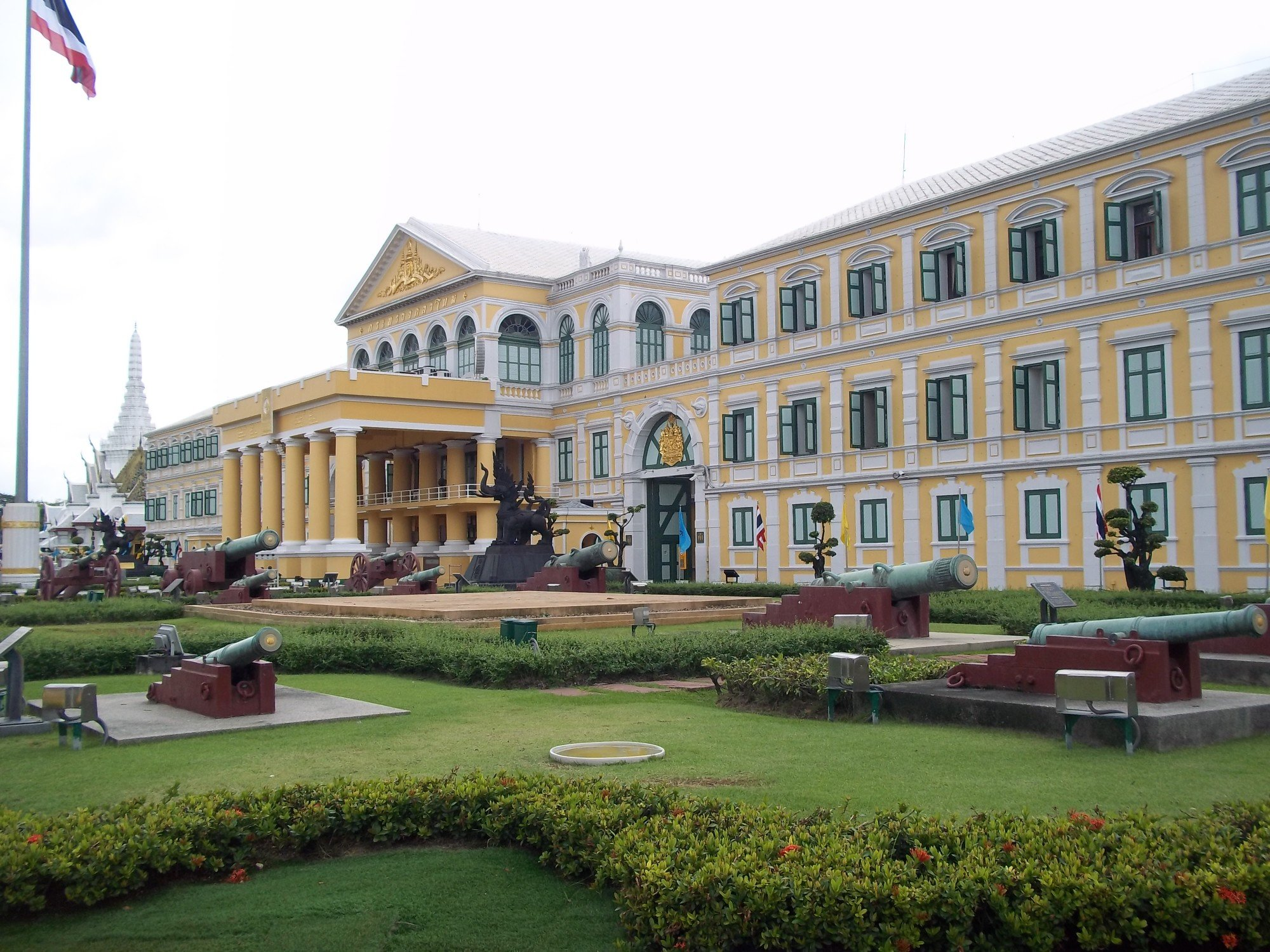 Defence Ministry Hall in Bangkok