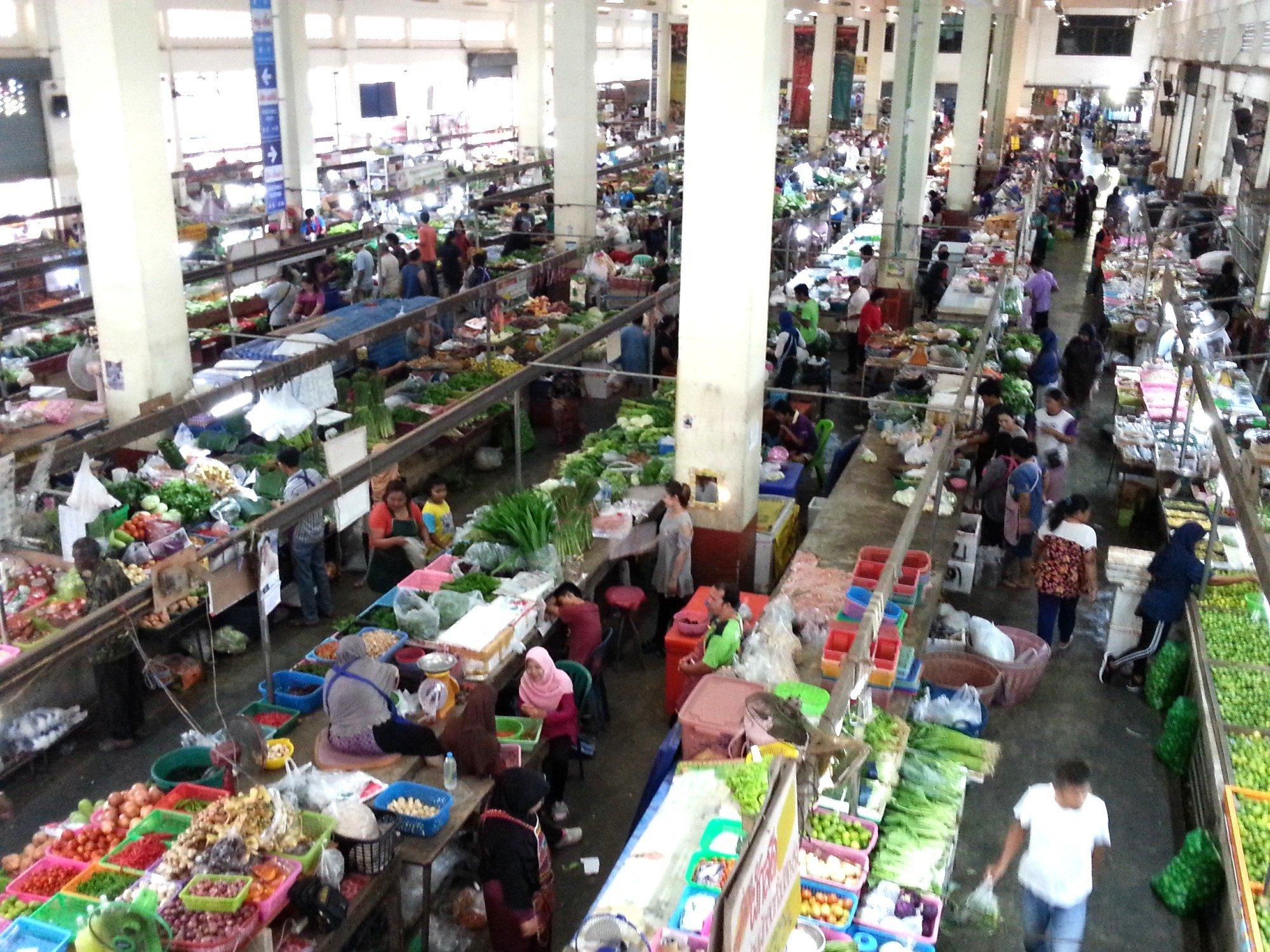 Maharaj Market in Krabi Town