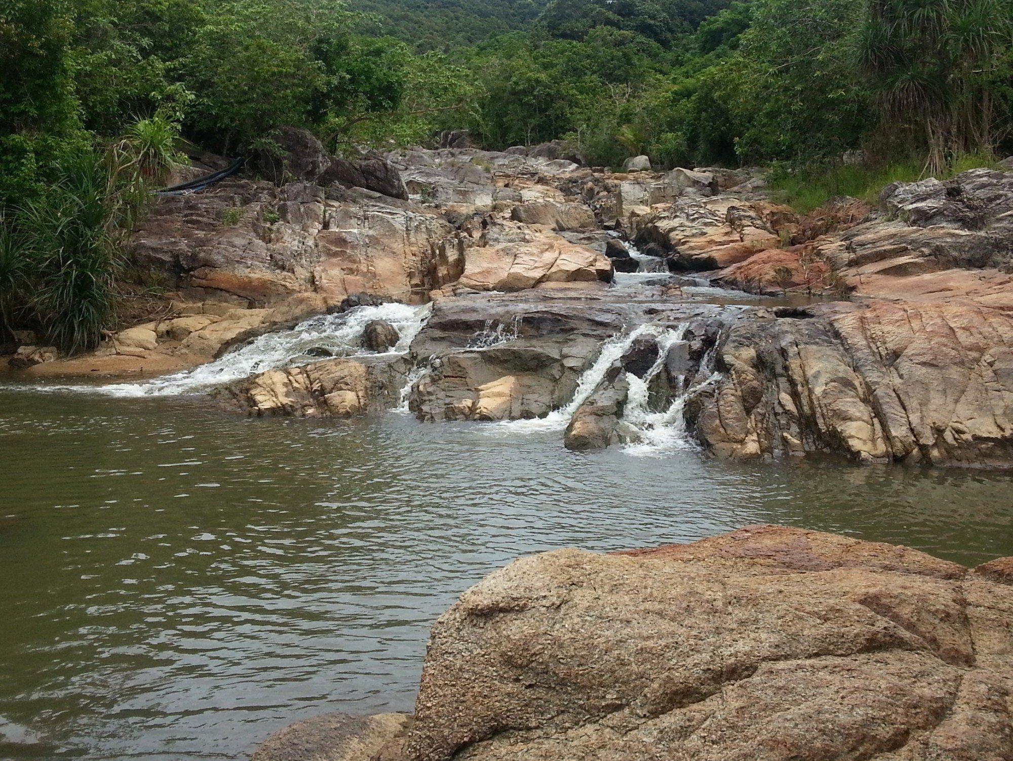 Than Sadet Waterfall in Koh Phangan