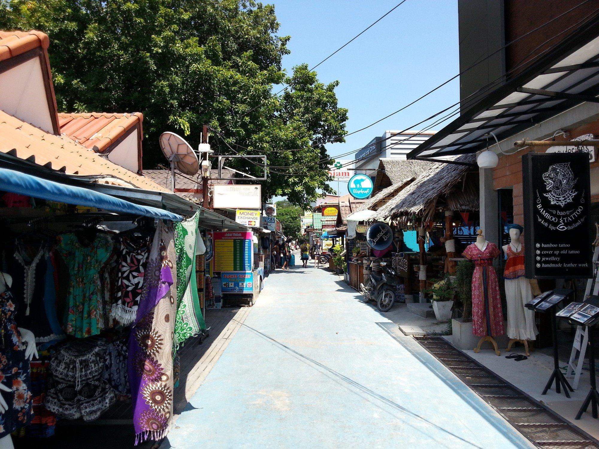 Walking Street in Koh Lipe