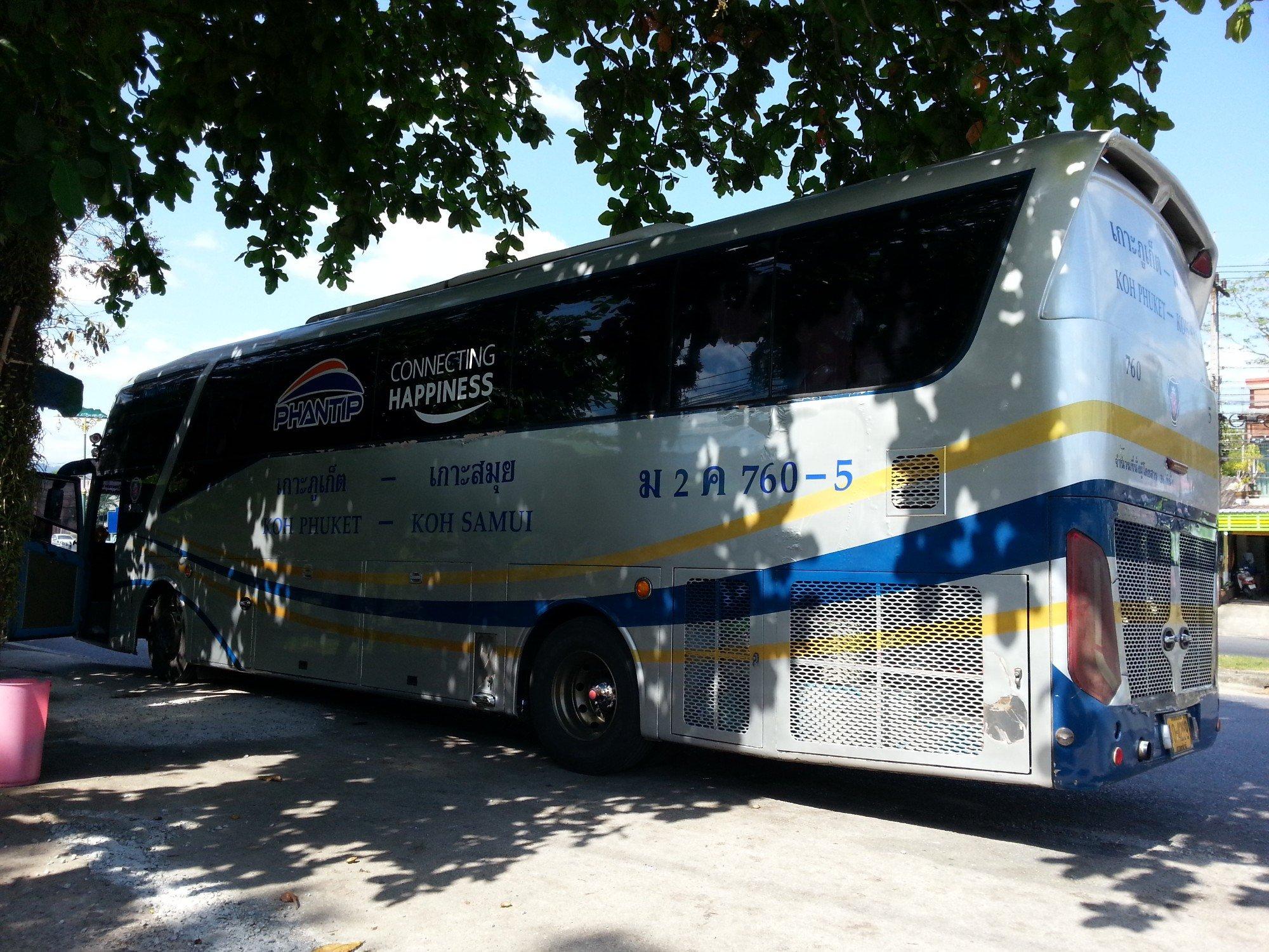 Phantip Travel Bus to Phuket