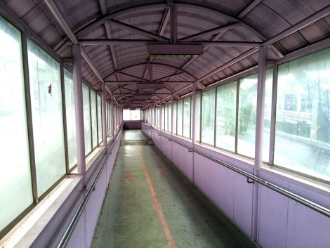 Walkway to Don Mueang Airport Railway Station