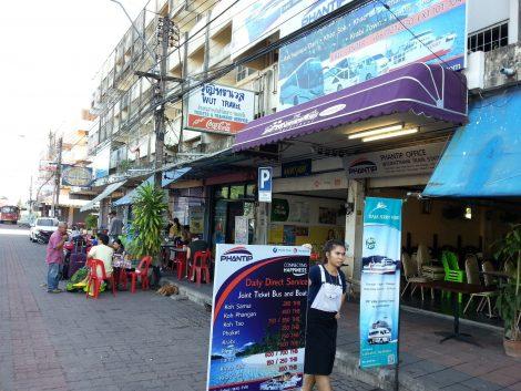 Phantip Office near Surat Thani Train Station