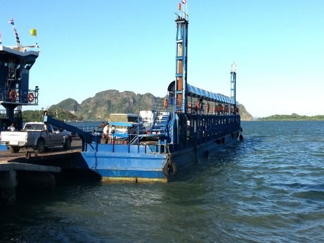Car ferry from Koh Lanta