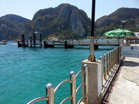 Tonsai Pier in Koh Phi Phi