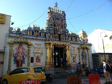 Sri Mahamariamman Temple in Penang