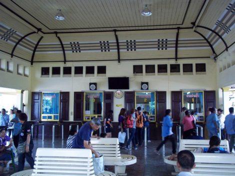 Ticket Hall at Ayutthaya Railway Station