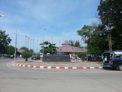 Thong Sala Ferry Pier in Koh Phangan